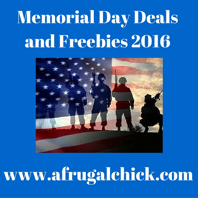 Memorial Day Discounts and Freebies 2016