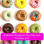National Doughnut Day Deal and Freebies 2016