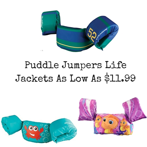 Puddle Jumpers Life Jackets As Low As $11.99