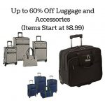 Up to 60% Off Luggage and Accessories (Items Start at $8.99)