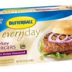 butterball frozen turkey burgers