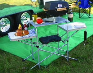 camping stand