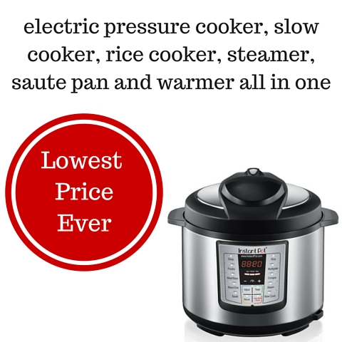 electric pressure cooker, slow cooker, rice cooker, yogurt maker, steamer, warmer, and sauté pan all in one (5)
