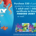 finding dory free tickets