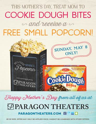 paragon theatres mothers day