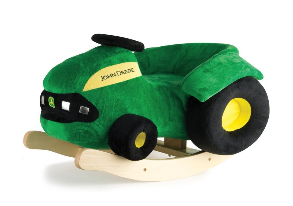 amazon lowest price  john deere plush rocking tractor