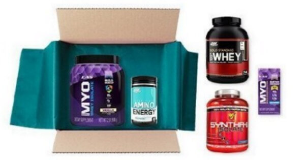 sports nutrition box
