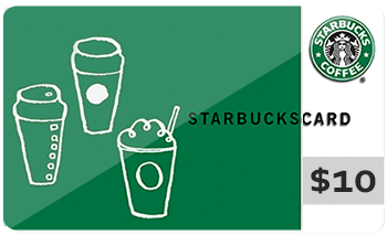 Starbucks buy one 10 gift card get one free negle Images