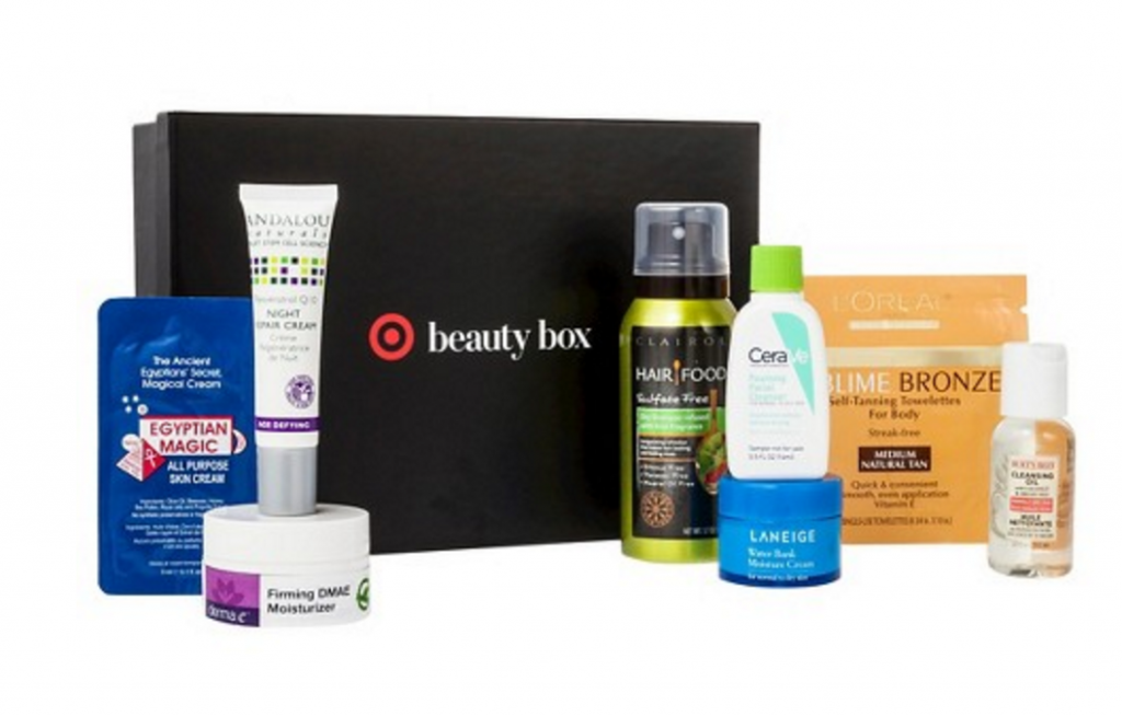 target may beauty box