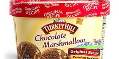 Chocolate marshmallow ice cream recalled because it may contain almonds.
