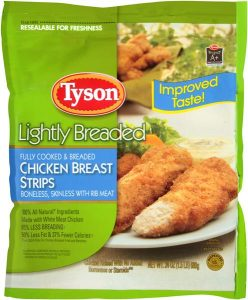 tyson whole grain chicken