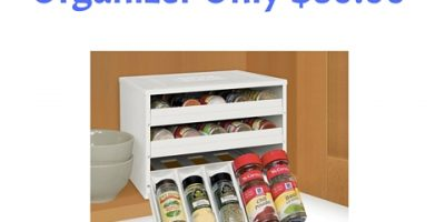 30 Bottle Spice Organizer