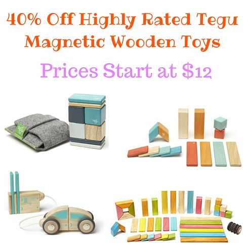40% Off Highly Rated Tegu Magnetic Wooden Toys