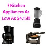 7 Kitchen Appliances As Low As $4.15!!!