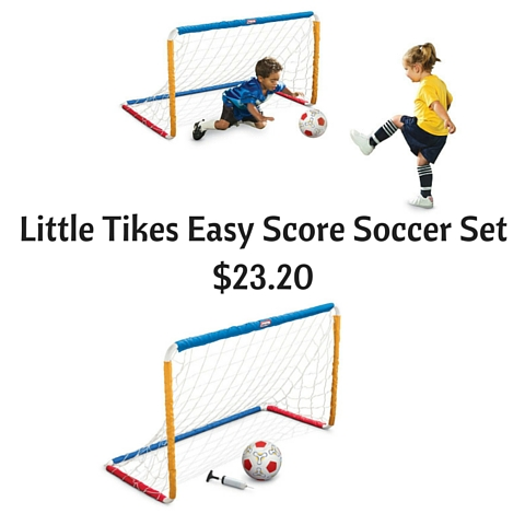 Little Tikes Easy Score Soccer Set $23.20