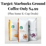Target- Starbucks Ground Coffee Only $4.99