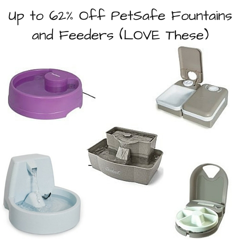 Up to 62% Off PetSafe Fountains and Feeders (LOVE These)