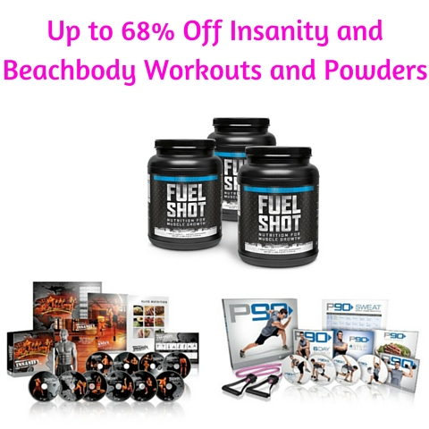 Up to 68% Off Insanity and Beachbody Workouts and Powders