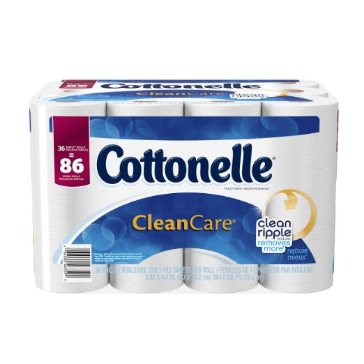cottonelle clean care