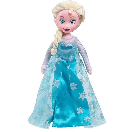 frozen elsa plush doll