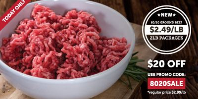 ground beef sale