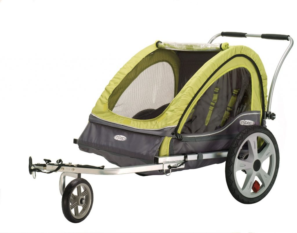 Amazon Instep Sierra Double Bicycle Trailer 98 35