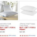 jcpenney pillow sale
