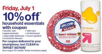 july 1 target coupon
