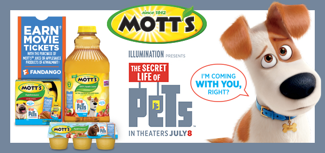 motts secret life of pets