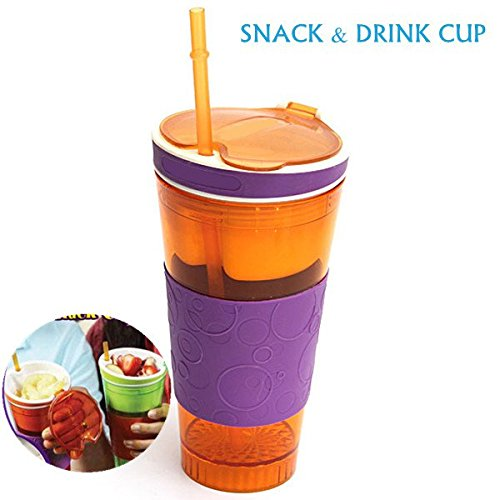 snack and drink cup