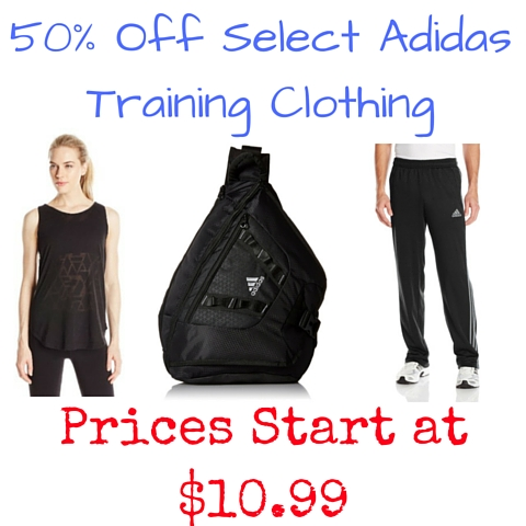 50% Off Select Adidas Training Clothing
