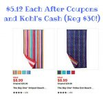 $6.80 Each After Coupons and Kohl's Cash (1)