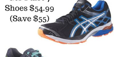 ASICS Men's and Women's Gel-Pulse 7 Shoes $54.99 (Save $55)
