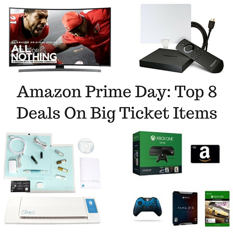 Amazon Prime Day- Top 8 Deals On Big Ticket Items