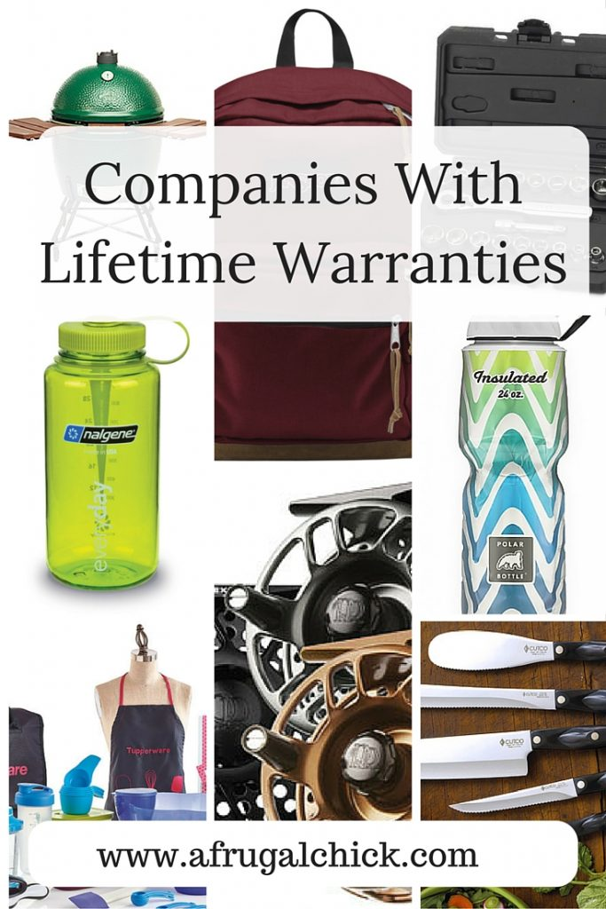 Companies With Lifetime Warranties