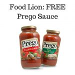 Food Lion- FREE Prego Sauce
