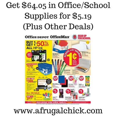 Get $64.05 in Office%2FSchool Supplies for $5.19 (Plus Other Deals)