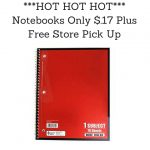 ---HOT HOT HOT--- Notebooks Only $.17 Plus Free Store Pick Up