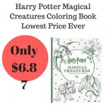 Harry Potter Magical Creatures Coloring Book Lowest Price Ever