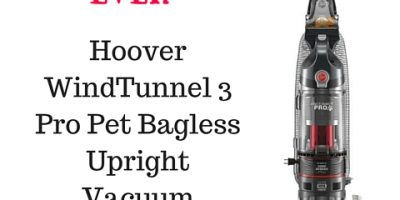 Hoover WindTunnel 3 Pro Pet Bagless Upright Vacuum $74.99