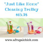 -Just Like Home- Cleaning Trolley $15.98