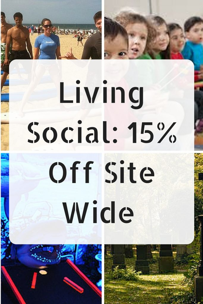 Living Social- 15% Off Site Wide Today