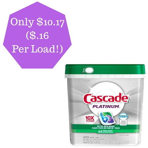 Only $10.17($.16 Per Load!)