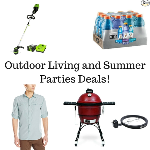 Outdoor Living and Summer Parties Deals!