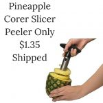 Pineapple Corer Slicer Peeler Only $1.35 Shipped