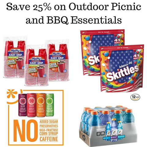 Save 25% on Outdoor Picnic and BBQ Essentials