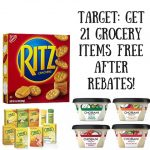 Target- Get 21 Grocery Items FREE After Rebates!