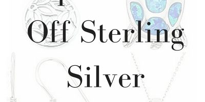 Up to 49% Off Sterling Silver Jewelry