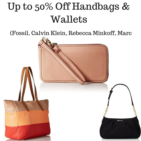 Up to 50% Off Handbags & Wallets (Fossil, Calvin Klein, Rebecca Minkoff, Marc Jacobs & More)