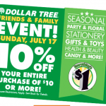 dollar tree customer appreciation